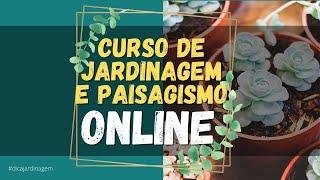 🌳🌷 Curso de Jardinagem e Paisagismo Online - Todos os De…