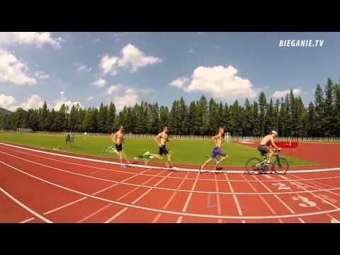 Adam Kszczot i Marcin Lewandowski: trening tempowy przed Mistrzostwami Świata