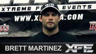 The X Fighter featuring Brett Martinez