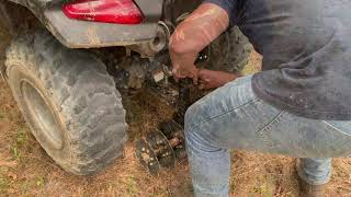 GroundHog MAX ATV/UTV Plow - How to use 4x4 Block to attach on small Honda