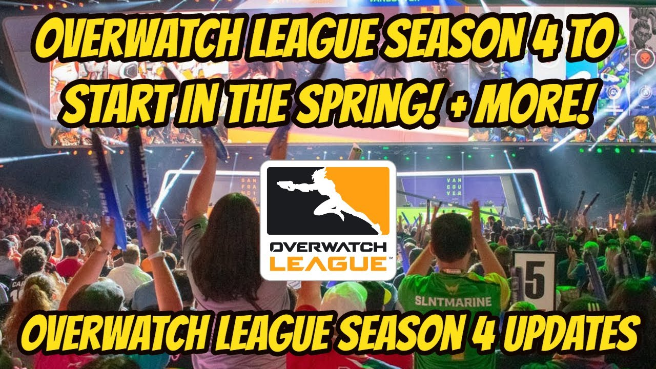 Overwatch League to Start in the Spring! Tournaments Returning! + More!