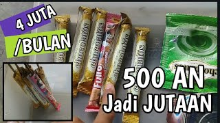 Usaha kecil sukses | usaha dengan modal 100 ribu untung besar, usaha es krim chocolatos
