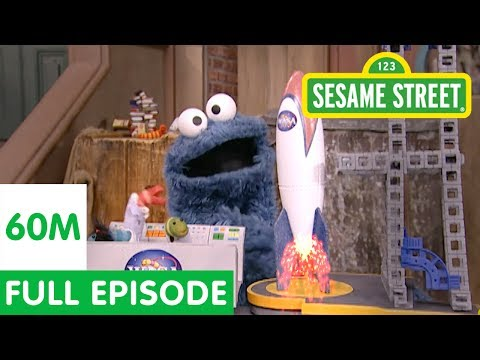 Cookie Monster Thinks the Moon is a Cookie | Sesame Street
