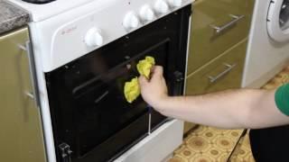 Как почистить внутреннее стекло дверцы духовки газовой плиты