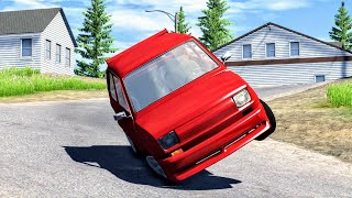 Loss of Control Crashes #3 – BeamNG Drive