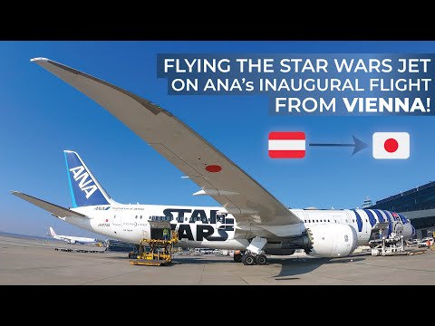 TRIPREPORT (STAR WARS JET!) | All Nippon Airways (ECONOMY) | Boeing 787-9 | Vienna - Tokyo Haneda