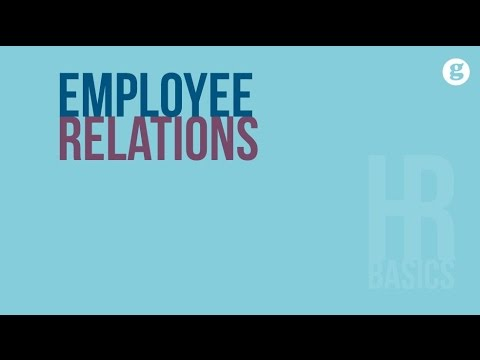 HR Basics: Employee Relations