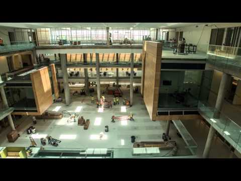 Hyperlapse: Paul L. Foster Campus for Business and Innovation