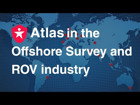 Atlas Professionals in the Offshore Survey & ROV industry - animation