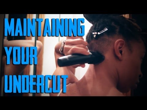 Maintaining Your Undercut DIY YouTube - Undercut hairstyle diy