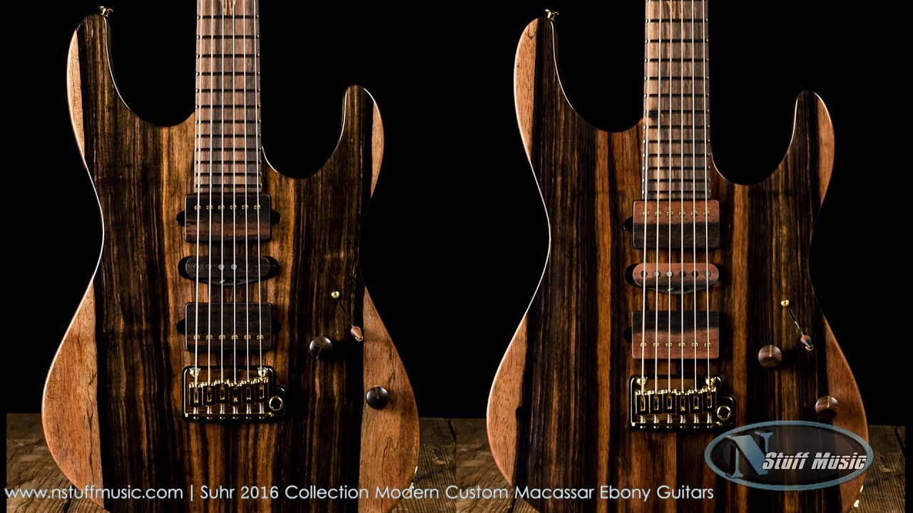 Accept. Macassar ebony guitar can