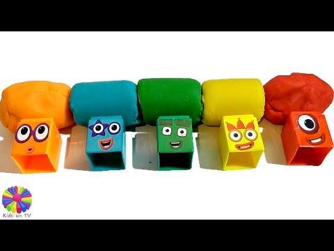 Learn colors NumberblocksCBeebiesKids songsPreschoolBBC