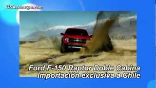 Importar a Chile Camioneta Ford F-150 Raptor Doble Cabina 2013 con http://USAencargo.com