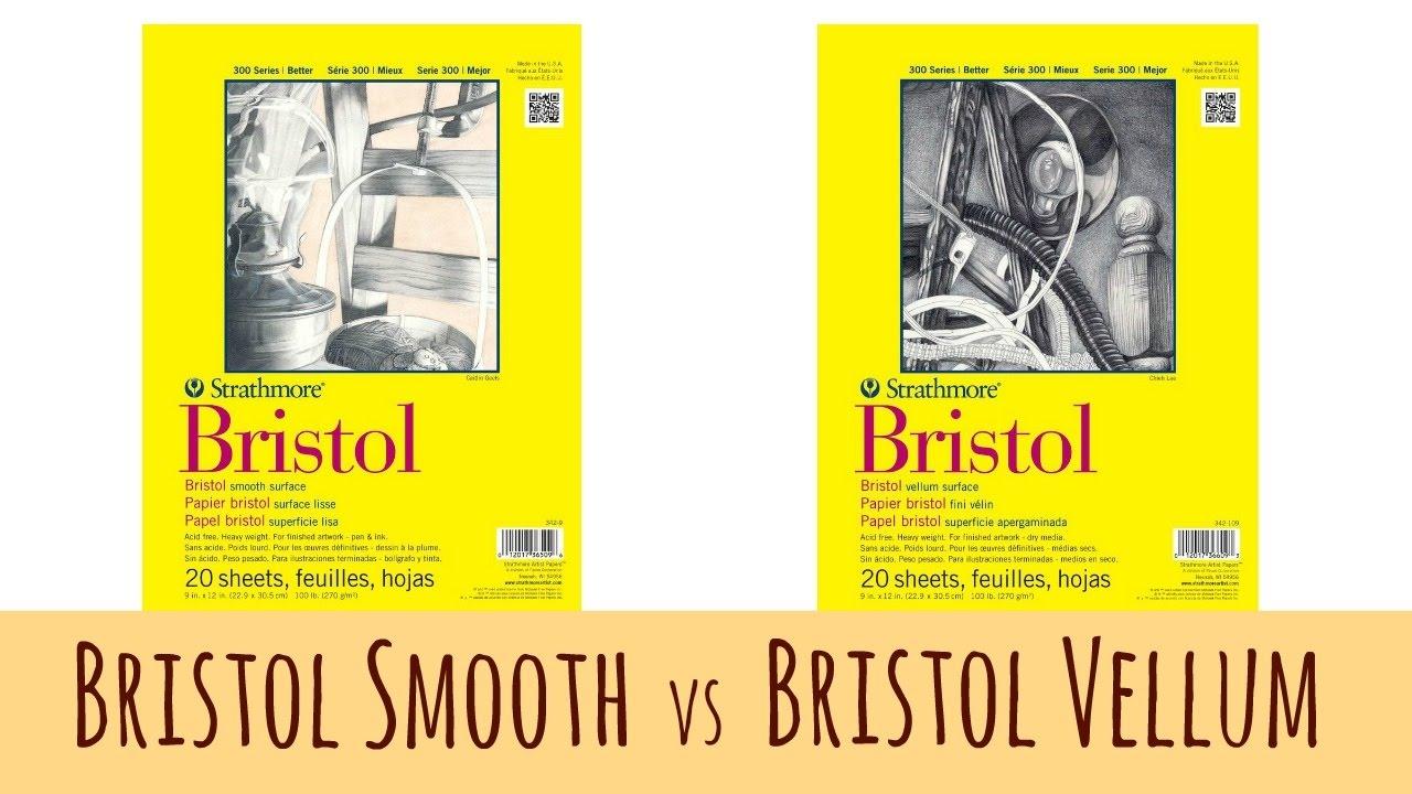 "Strathmore 300 Series Bristol Pad Smooth 11x14/"""