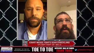 Frank Trigg pre-fight interview with UFC Fight Night 120's Court McGee