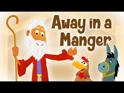 ❄ ♫ Away In Manger ♫ 🔔Famous Christmas Songs For Kids 🔔 Animated Christmas Carols For Children ♫🔔❄