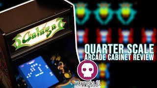Numskull Quarter Arcade Galaga Review And Game Play!
