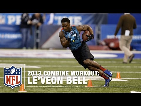 Le'Veon Bell 2013 Combine Workout Highlights | NFL