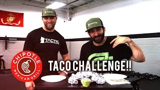 OpTic Strength: CHIPOTLE TACO CHALLENGE