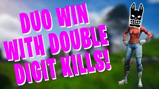 Duo Fortnite WIN with Zeron (HIGH KILL)