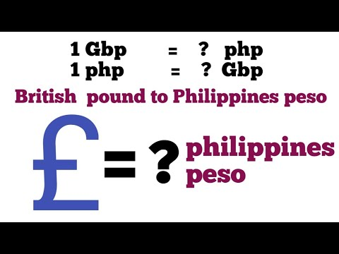 Pound To Php I British Pound To Philippines Peso Exchange Rate Today | Gbp To Php