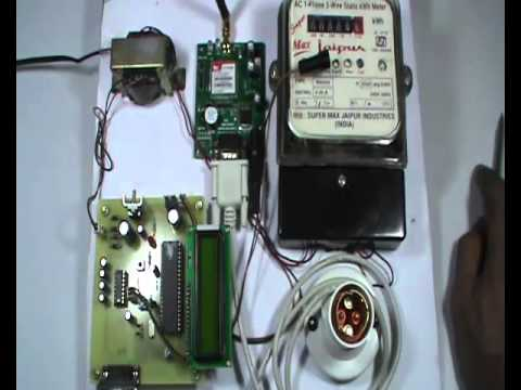 IOT BASED ELECTRICITY ENERGY METER READING THROUGH INTERNET