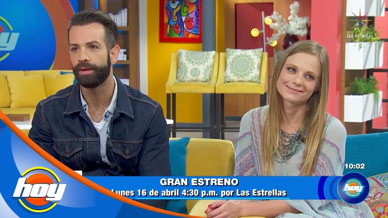 Ana Layevska y Diego de Erice, listos para el estreno de 'Y mañana será otro día' | Hoy