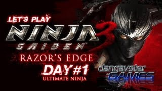 Game: NINJA GAIDEN 3: RAZORS EDGE Platform: PS3 Mode: Chapter Chall...