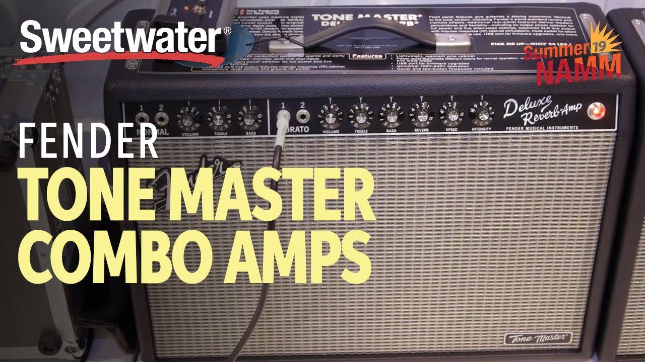 Fender Tone Master Deluxe Reverb 100-watt 1x12