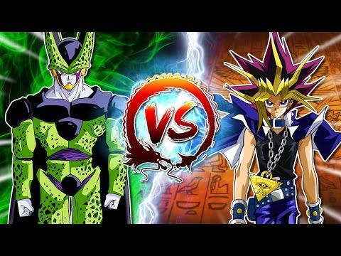 Dragon Ball Z Abridged: Cell Vs Yami Yugi - edited by Innagadadavida