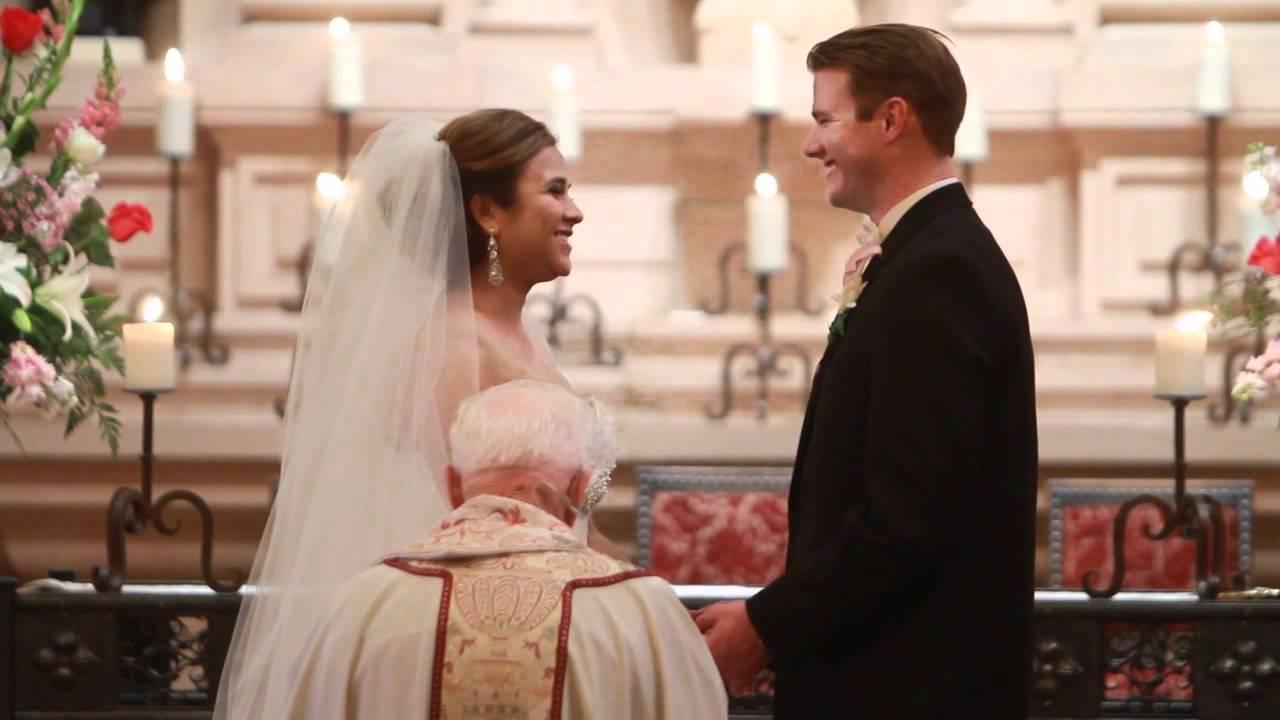 Wedding Vows in Church - YouTube