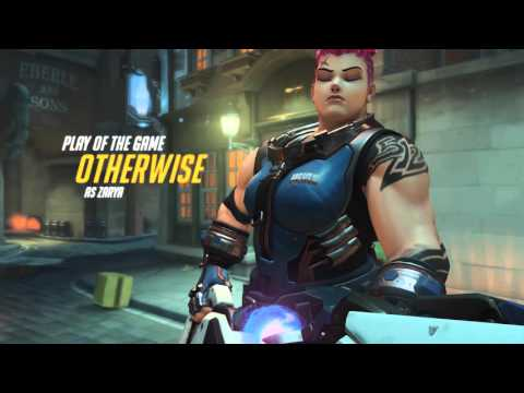 Overwatch: Zarya is a fun and interactive character.