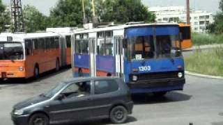 Ikarus 280T in Sofia
