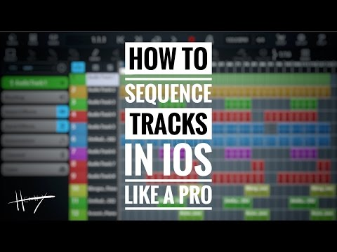 HOW TO SEQUENCE TRACKS IN IOS LIKE A PRO! in 4K (GH5)