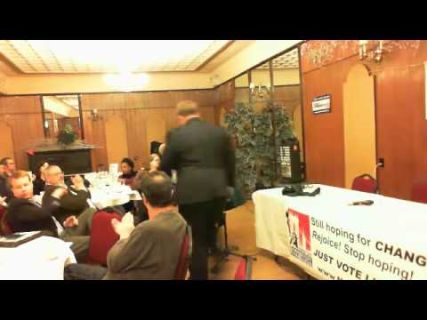 Manhattan Libertarian Party 2012 Presidential Debate Pt 1