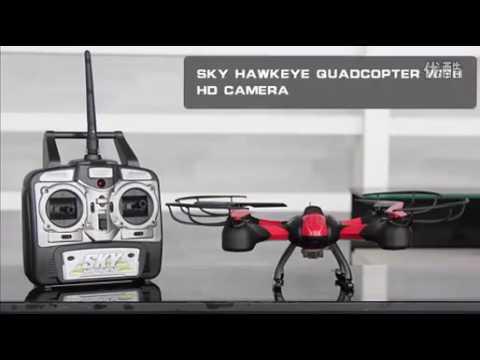Дрон Sky HawkEye HM1315S с 5.8G FPV монитор за гледане в реално време 27