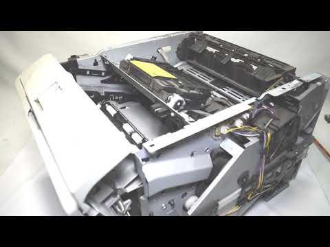Закипела печка в принтере HP LaserJet P2055