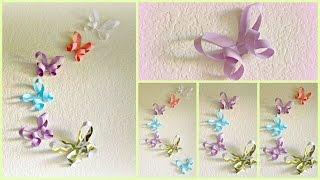 Diy Room Decor: 3d Paper Butterflies