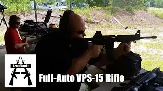 Full-Auto VPS-15 Rifle from Kavod Custom