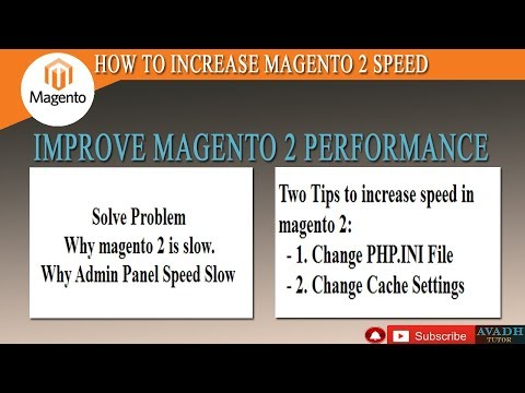 how to increase magento 2 speed | Why magento 2 is slow | magento 2 performance optimization thumbnail