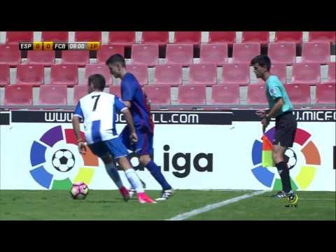 CAT B/MIC17 - El RCD Espanyol gana al Barça y es campeón del MIC [Partido completo]