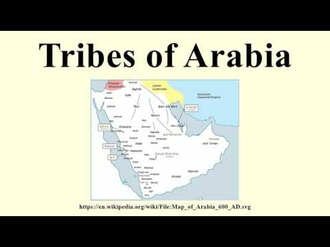 Tribes of Arabia
