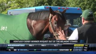 Nyquist to Miss 2016 Belmont Stakes