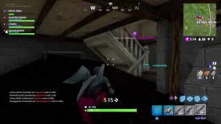 Fortnite  gameplay with  the squad 9