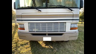2001 Bounder 31W headlight assembly replacement