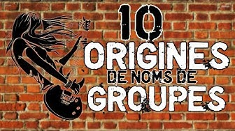 10 Origines de noms de Groupes (+ concours Shirtisfaction)