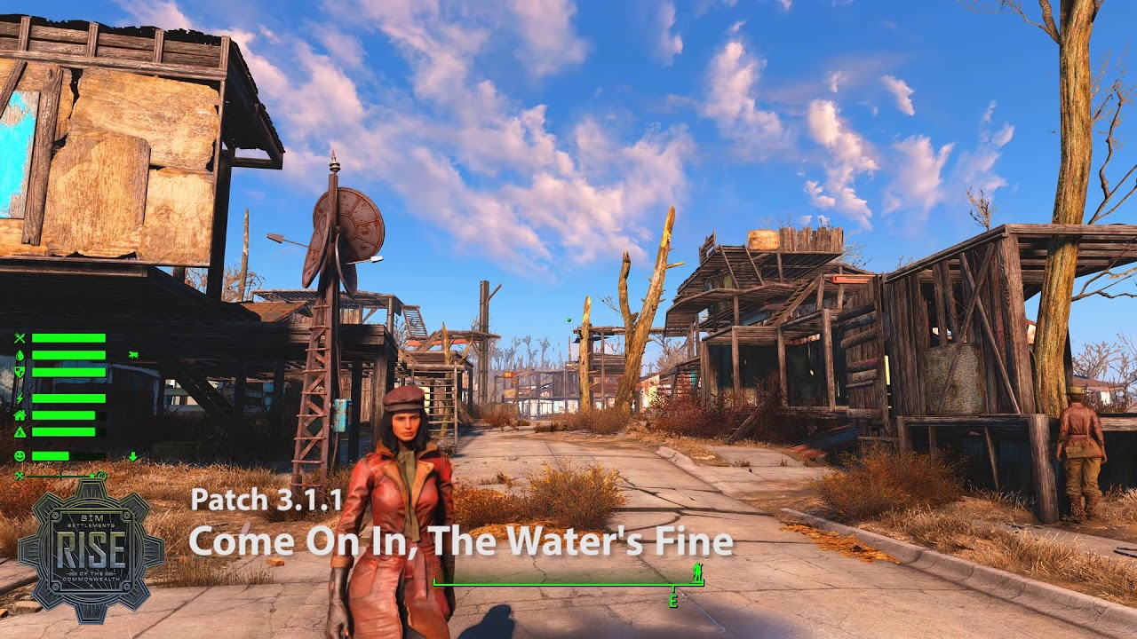 Sim Settlements: Patch - Come On In, The Water's Fine