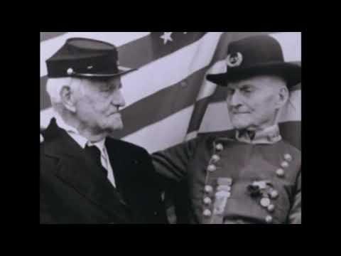 American Civil War Genuine footage - Dusk at Gettysburg (long)