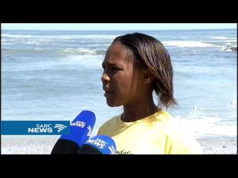 Volunteers embark on a clean up campaign in Cape Town