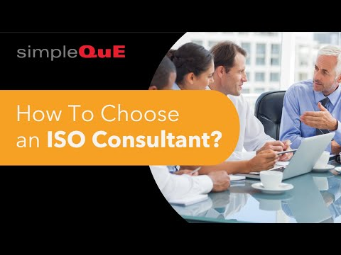 How To Choose an ISO Consultant?